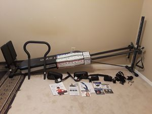 Total Gym Fusion with Step Attachment and Pilates Kit for Sale in Martinez, CA