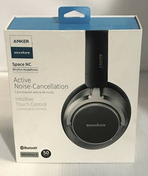 Anker space NC noise cancellation ANC bluetooth headphones. Works with iPhone Android and most phones. Brand new never opened. Great brand and price. for Sale in Sidney, OH