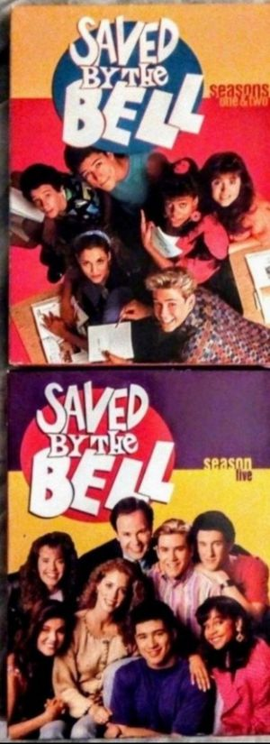 Saved By The Bell Complete seasons 1+2 And 5 DVD for Sale in Fresno, CA