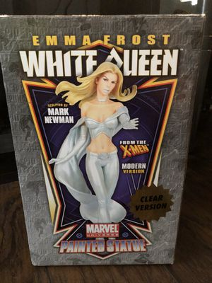 Emma Frost White Queen Collectible Statue Figure for Sale in Riverview, FL
