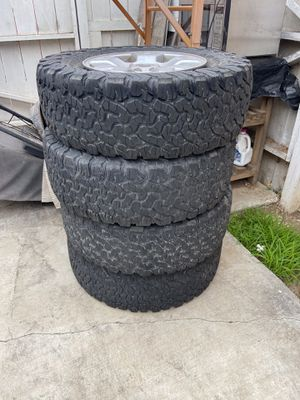 BFG KO2s - set of 4 with Toyota wheels for Sale in Imperial Beach, CA