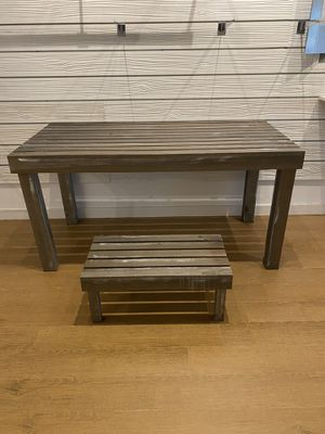 Distressed Style Wood Step Stool for Sale in Delray Beach, FL