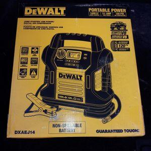 Dewalt Portable Car Battery Jumpbox for Sale in Tacoma, WA