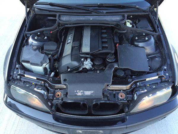 Bmw       engine       motor    e46    325i    325ci 25l m54 m54b25 running manual trans transmission 2001 2002 2003