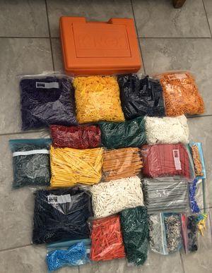 Knex Pieces and Case for Sale in Phoenix, AZ