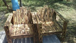 Wooden patio chairs..each chair $60 for Sale in San Antonio, TX