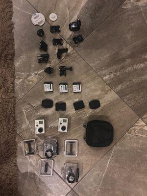 2 x Go Pro original HD cameras plus accessories for Sale in Fort Lauderdale, FL