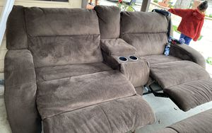 Sectional recliners set for Sale in Tracy, CA