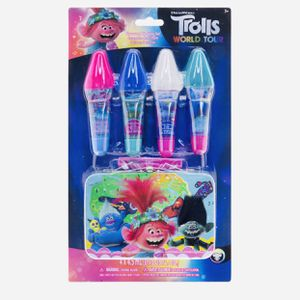 Trolls Lip Gloss With Storage Tin for Sale in Dallas, TX