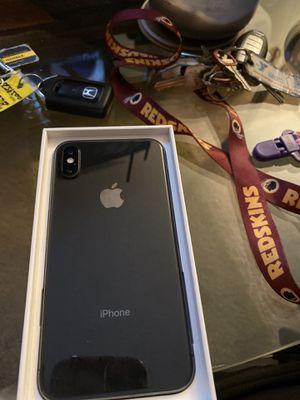 Apple iPhone X 256 HB for Sale in Reston, VA