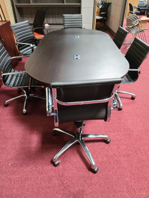 Conference table and chairs for Sale in Naperville, IL