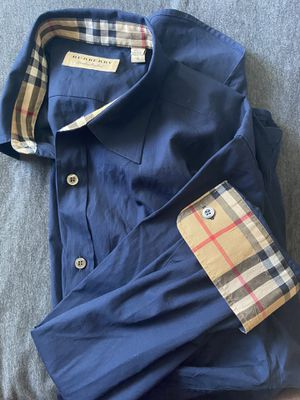 Burberry Men's Long Sleeve Button Down for Sale in Oviedo, FL