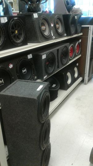All kinds of Car Stereo stuff - Speakers Amplifier CD Players Aux USB Bluetooth Radio for Sale in Tampa, FL