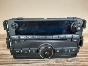 Chevy GMC stock radio 2007 thru 2011 0EM stock radio GM part number 25941919 for Sale in Kalama, WA