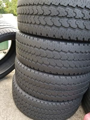 A set of 4 tires 275 70 18. for Sale in UPR MARLBORO, MD