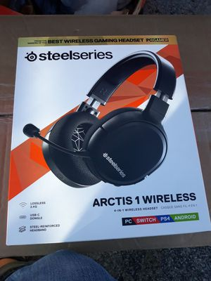 SteelSeries Arctis 1 Wireless Black for Sale in Plano, TX