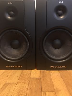 M Audio BX8 D2 monitor speakers PAIR for Sale in Anaheim, CA