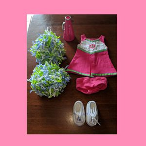 American Girl doll cheer outfit & accessories for Sale in Levittown, PA