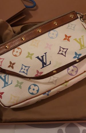 Genuine Louis Vuitton small hand bag Summer Edition for Sale in Irwindale, CA