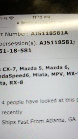 Tank pressure sensor AJ51-18-581A Mazda part fits miata, 2.3l ,Mazda 5,6 ,RX8,CX-7, 3.0L MPV vapor. for Sale in Fullerton, CA