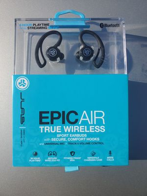 Jlab Epic Air True Wireless Sport Earbuds for Sale in Moreno Valley, CA