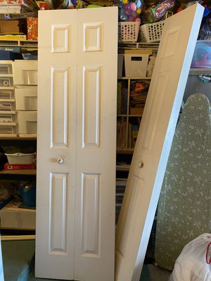2 folding closet doors for Sale in FL, US