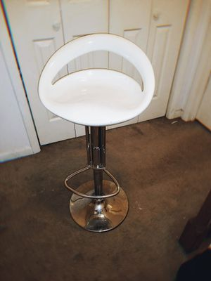 One White adjustable bar stool for Sale in Hermitage, TN