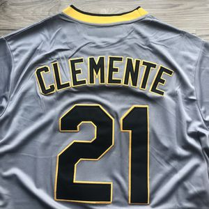 BRAND NEW! 🔥 Roberto Clemente #21 Pittsburgh Pirates GREY Jersey + SHIPS OUT NOW 📦💨 for Sale in Los Angeles, CA