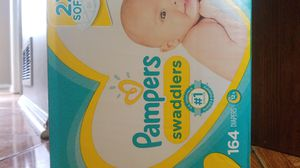 Pampers newborn & size 1 diapers for Sale in Duluth, GA