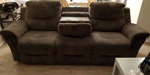 Couch with cupholders. for Sale in Hayward, CA