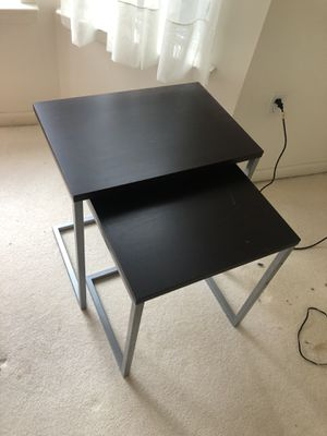 Stacking tables - driveway pick up for Sale in Toms River, NJ