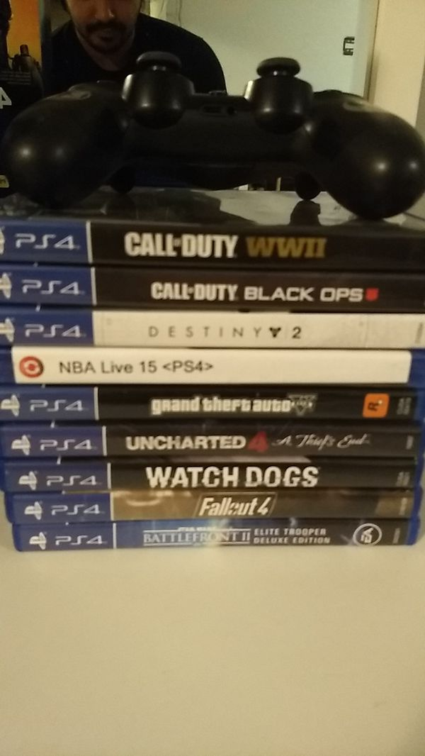 Brand new ps4 pro and games