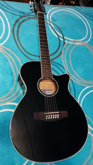 Ibanez twelve string acoustic electric guitar for Sale in Chandler, TX