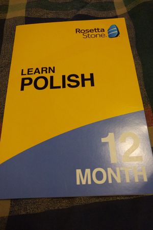 Rosetta Stone Polish 12 month online course for Sale in Anderson, SC