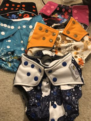 Cloth diapers for Sale in Arlington, TX