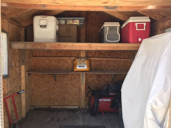 Storage shed 8'X8'