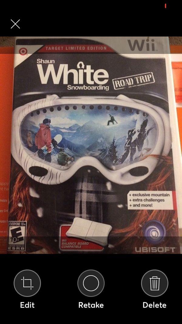 Shaun White Snowboarding Road Trip, Wii game
