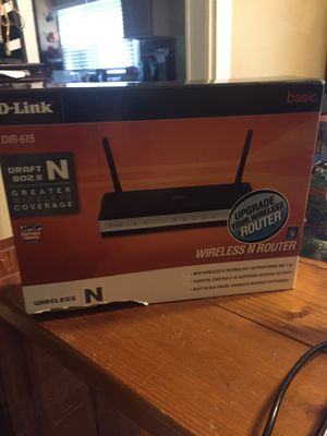 D-Link Wireless Router for Sale in Franklinville, NC