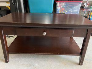 Wooden Console/Coffee Table 38x21x20 for Sale in Alpharetta, GA