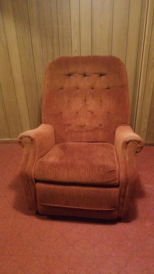 Orange chair for Sale in Little Chute, WI