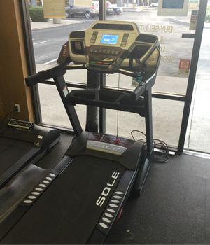 Sole F63 heavy duty folding treadmill With ONLY 26 TOTAL MILES ON IT for Sale in Phoenix, AZ