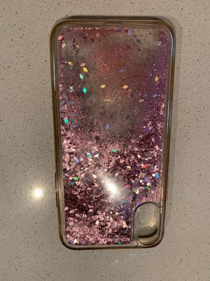iPhone X and XS Case Glitter Rose Gold for Sale in Los Angeles, CA