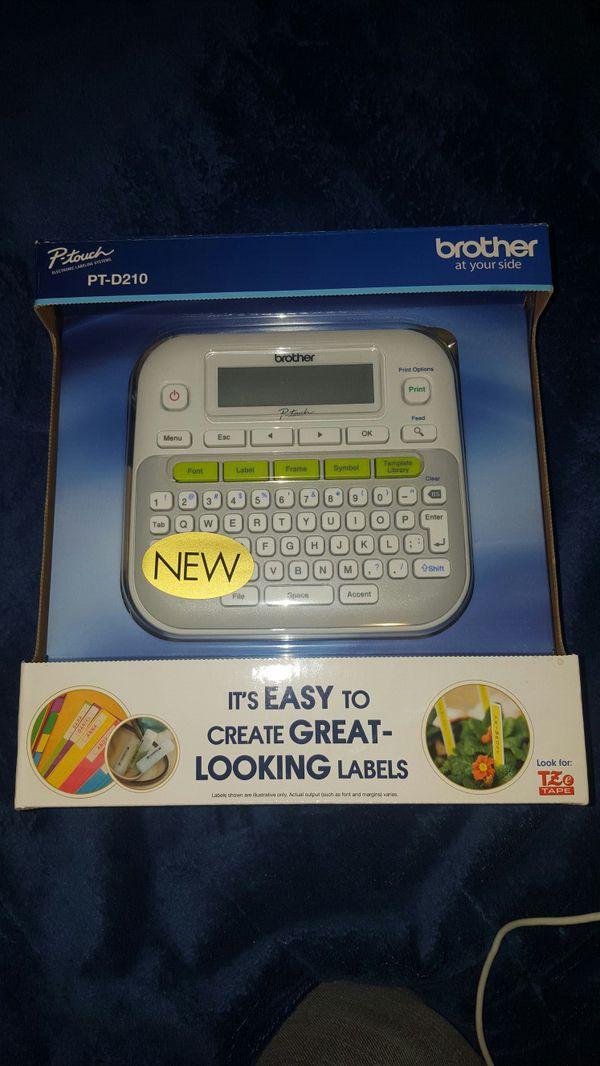 Brother Label Maker PT-D210