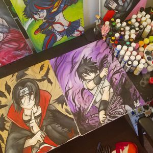 Itachi & Sasuke Set! By Quil - Naruto Shippuden for Sale in Tracy, CA