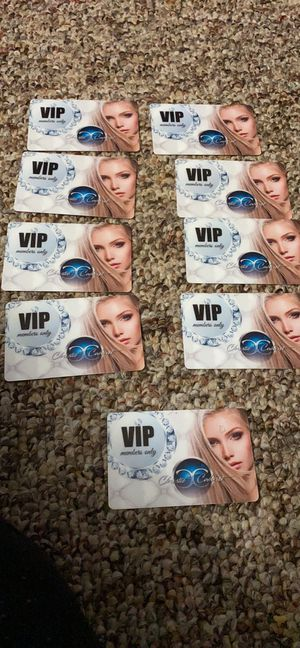 Christis vip card for Sale in Medina, OH
