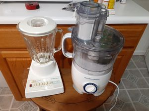 TWO REALLY nice One is a Blender and One A Food processor for Sale in Arnold, MO