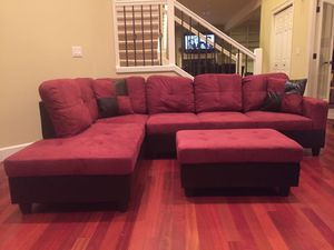 Sectional couch red NEW on sealed packaging Never open Delivery all areas for Sale in Vancouver, WA