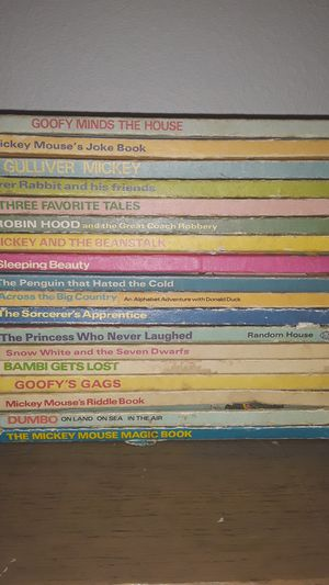 Disney Vintage books for Sale in Puyallup, WA