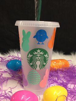 Easter Starbucks Cup Customizable For Easter for Sale in Indianapolis,  IN
