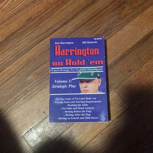 Harrington On Hold'em Volume 1 for Sale in Miami, FL